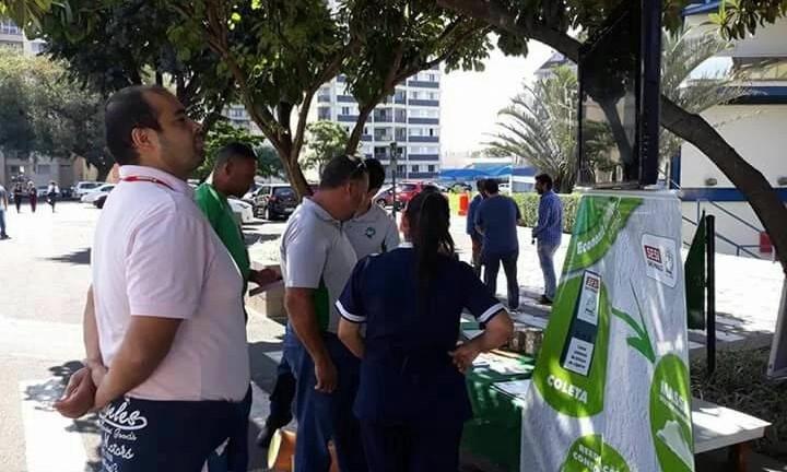 Poiato Recicla presente na SIPAT da Sanasa em Campinas – SP